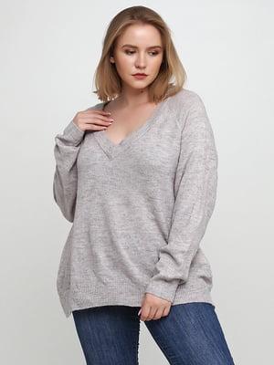 Пуловер серый | 5507226