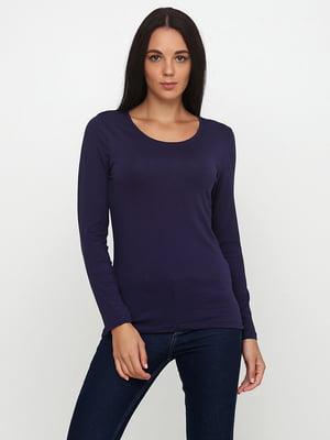 Лонгслів фіолетовий | 5507296