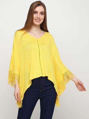 Накидка желтая | 5507353