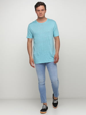 Джинсы голубого цвета | 5507362