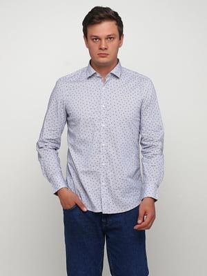 Сорочка в смужку і принт | 5507369
