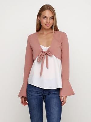 Болеро розовое | 5507386