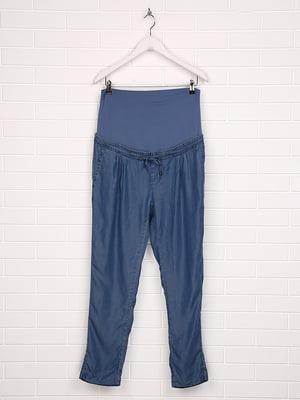 Штани для вагітних блакитні | 5507390