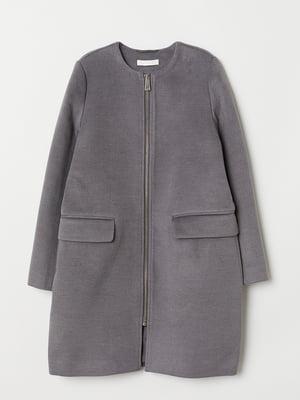 Пальто сіре | 5507511