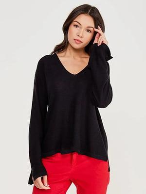 Пуловер чорний | 5507542