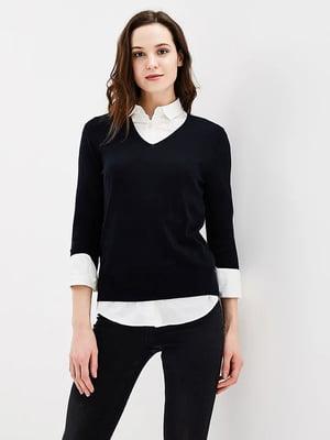 Пуловер чорний | 5507543