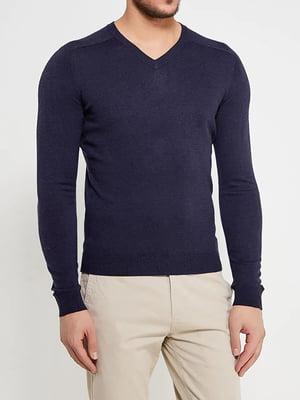 Пуловер синий   5507555
