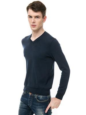 Пуловер синий   5507560