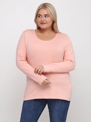 Лонгслів рожевий | 5507581