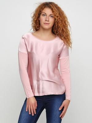 Лонгслив розовый | 5507593