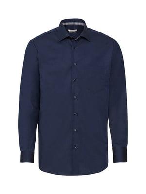 Рубашка темно-синяя | 5507645