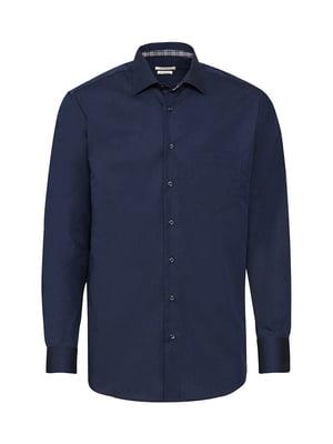 Рубашка темно-синяя | 5507648