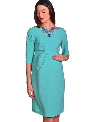 Платье бирюзового цвета | 5507797