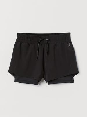 Шорти для бігу чорні | 5508866