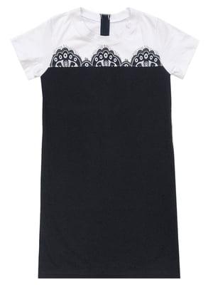 Платье черное с принтом | 5508970