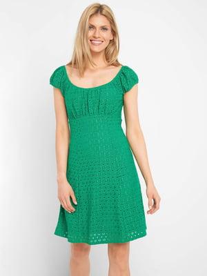 Платье зеленое | 5508023