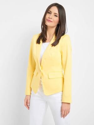 Жакет желтый | 5508025