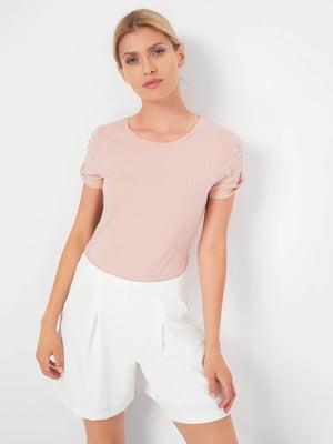 Блуза кольору пудри   5508045