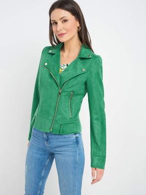 Куртка зелена | 5508103