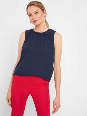 Блуза темно-синя | 5508106