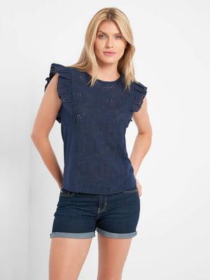 Блуза темно-синяя   5508148