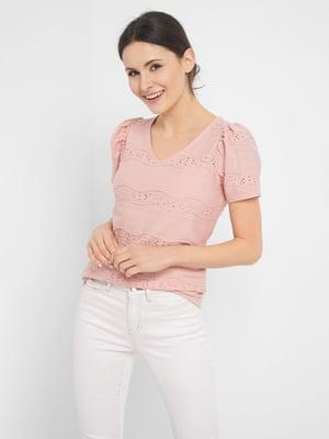 Блуза розовая | 5508152