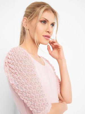 Блуза пудрового цвета   5508154