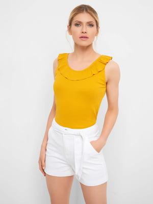 Блуза желтая   5508156