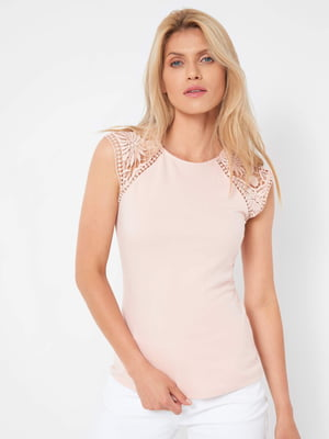 Блуза пудрового цвета   5508173