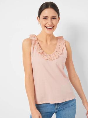 Блуза пудрового кольору | 5508175