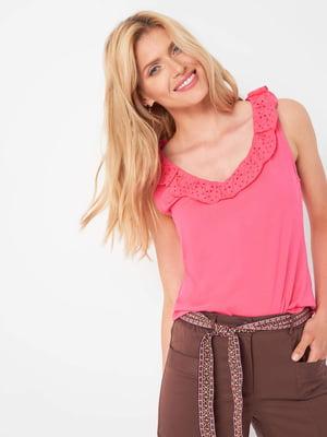 Блуза рожева | 5508176