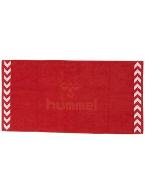 Полотенце красное махровое | 5508989