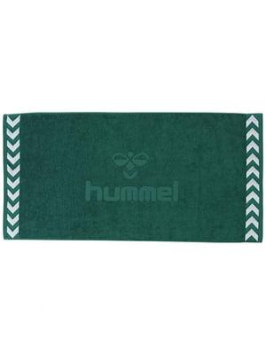 Полотенце зеленое махровое | 5508990