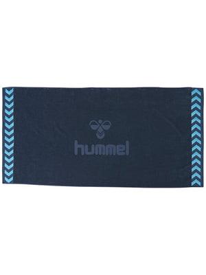 Полотенце синее махровое | 5508991