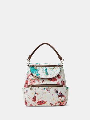 Рюкзак в цветочный принт | 5509031