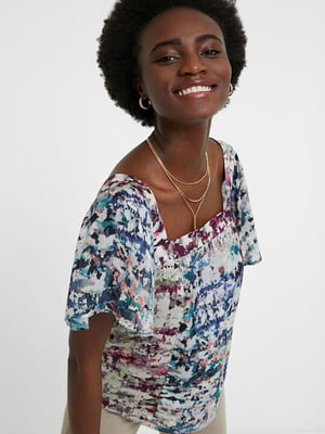 Блуза в принт | 5509051