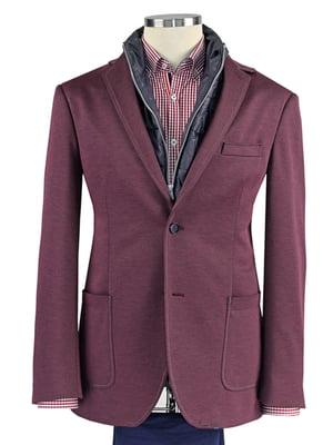 Пиджак бордовый | 5509920