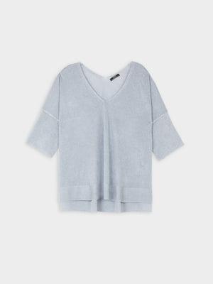 Пуловер голубой   5509459