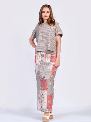 Костюм: юбка и футболка | 5509939