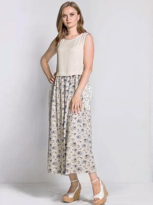Сукня в квітковий принт | 5509940