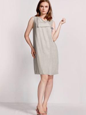 Платье серое | 5509963