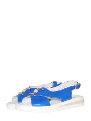Босоножки синие | 5499177