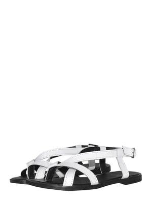 Босоніжки білі   5502341