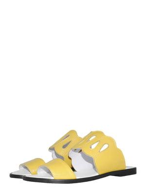 Шлепанцы желтые | 5502343