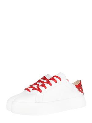 Кросівки білі з декором   5502352