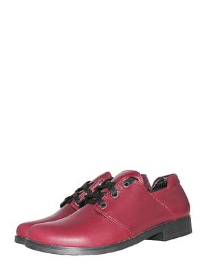 Туфлі бордові | 5506945
