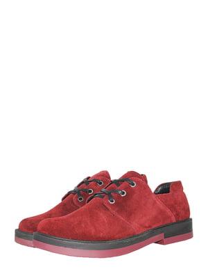 Туфлі бордові | 5506947