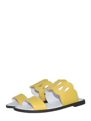 Шлепанцы желтые | 5506963
