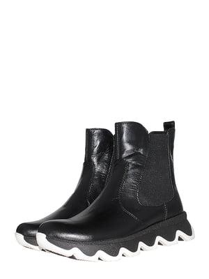 Ботинки черные   5510215