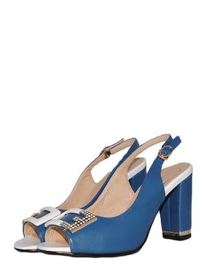 Босоніжки сині | 5504143